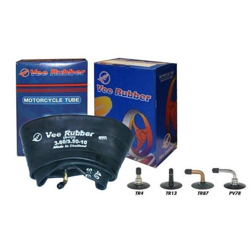 Vee Rubber Quality Heavy Duty Motorcycle Inner Tube 350//400x17 Straight Valve